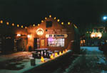 Christmas at El Rincon Trading Post, Taos Lodging, New Mexico USA