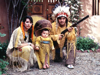Ute Family  Paco, Jennifer& Christopher