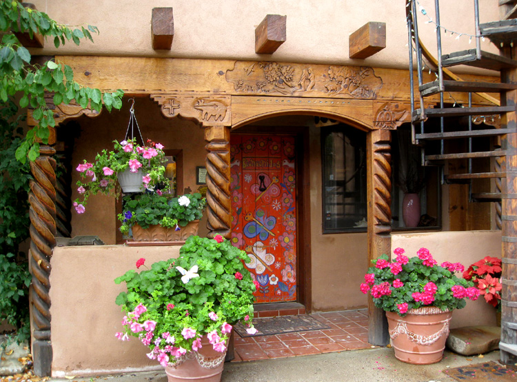 La dona luz inn taos new mexico bed and breakfast lodging for Cabins in taos nm